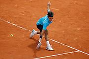 Roland Garros. Paris, France. June 1st 2007..3rd Round..Roger FEDERER against Potito STARACE.