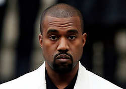 File photo dated 20/02/15 of Kanye West, who has donated 150,000 dollars (£117,000) to the family of a security guard shot and killed by police in the US.