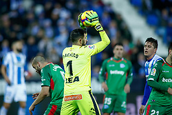 November 23, 2018 - Leganes, MADRID, SPAIN - Pacheco of Alaves during the Spanish Championship La Liga football match between CD Leganes and Deportivo Alaves on November 23th, 2018 at Estadio de Butarque in Leganes, Madrid, Spain. (Credit Image: © AFP7 via ZUMA Wire)