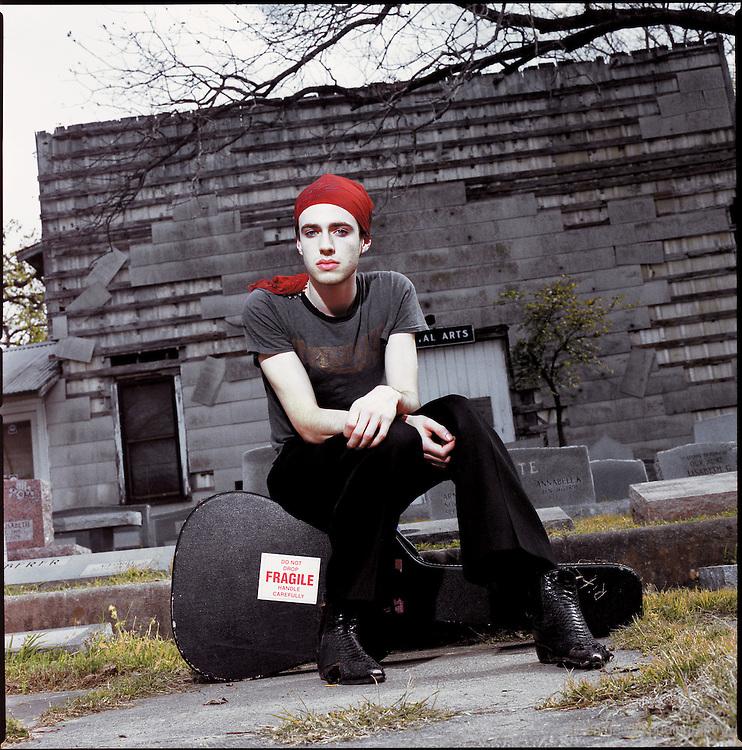 Finn Andrews of The Veils in Austin, Texas, 2005