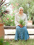 Manager of a european style community garden outside of Marrakech, Morocco