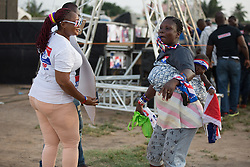 December 3, 2016 - 12.03.16 Accra, Ghana- The New Patriotic Party (NPP) Political party holds a rally in the Ashalebotwe region of Accra ahead of the Presidential and Parliamentalelection on the 7th December. (Credit Image: © Louise Wateridge via ZUMA Wire)