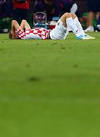 Fotball<br /> EM 2012<br /> 18,06.2012<br /> Kroatia v Spania<br /> Foto: Gepa/Digitalsport<br /> NORWAY ONLY<br /> <br /> Bild zeigt die Enttaeuschung von Ivan Rakitic (CRO).