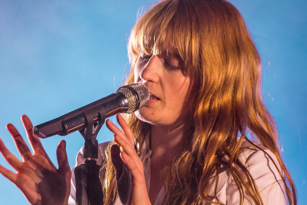 Florence and the Machine performing at Coachella in Indio, CA on April 12, 2015.