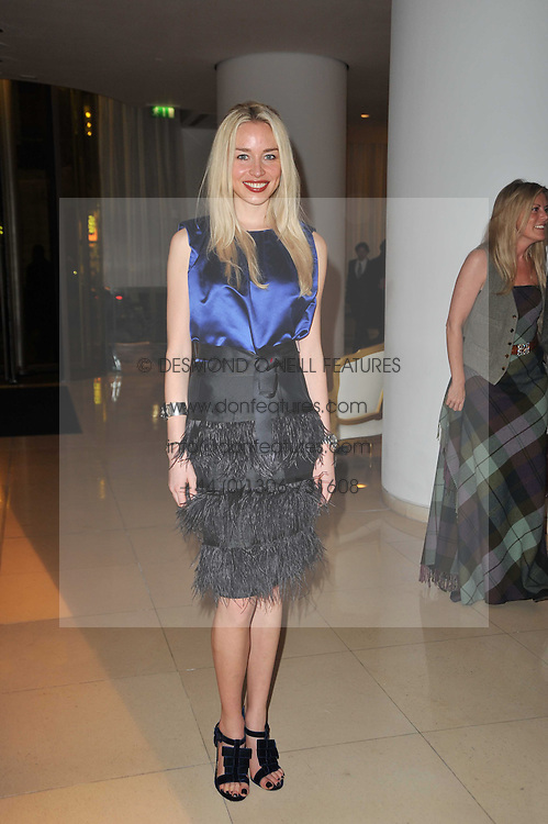 NOELLE RENO at a Burns Night dinner in aid of cancer charity CLIC Sargent held at St.Martin's Lane Hotel, London on 25th January 2011.