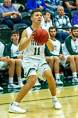 2019-20 Illinois Wesleyan Titan men's basketball and opponents photos