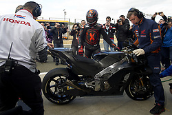 November 20, 2018 - Valencia, Spain - Jorge Lorenzo (99) of Spain and Repsol Honda Team during the tests of the new MotoGP season 2019 at Ricardo Tormo Circuit in Valencia, Spain on 20th Nov 2018  (Credit Image: © Jose Breton/NurPhoto via ZUMA Press)