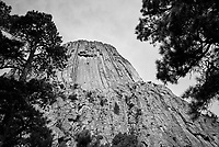 Devils Tower. Image taken with a Nikon D200 camera and 18-70 mm kit lens (ISO 100, 18 mm, f/5.6, 1/350 sec).