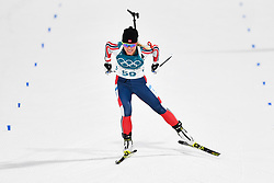 February 10, 2018 - Pyeongchang, South Korea - 180210 Tiril Eckhoff of Norway  competes in Women's Biathlon 7,5 km Sprint during day one of the 2018 Winter Olympics on February 10, 2018 in Pyeongchang..Photo: Petter Arvidson / BILDBYRN / kod PA / 87614 (Credit Image: © Petter Arvidson/Bildbyran via ZUMA Press)