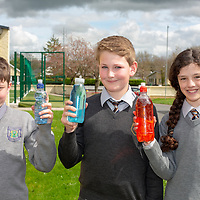 Sean O'Connell, Darragh Horkan and Rona Heeney from Parteen NS with their Jessies Project Glitter Globes