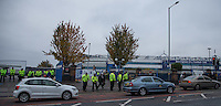 A Heavy Police Presence outside St Andrews for the visit of Fierce rivals Aston Villa<br /> <br /> Photographer James Williamson/CameraSport<br /> <br /> The EFL Sky Bet Championship - Birmingham City v Aston Villa - Sunday October 30th 2016 - St Andrews - Birmingham<br /> <br /> World Copyright © 2016 CameraSport. All rights reserved. 43 Linden Ave. Countesthorpe. Leicester. England. LE8 5PG - Tel: +44 (0) 116 277 4147 - admin@camerasport.com - www.camerasport.com