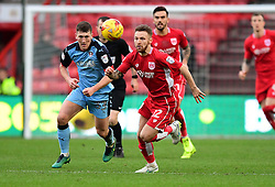 Matty Taylor of Bristol City chases the ball  - Mandatory by-line: Joe Meredith/JMP - 04/02/2017 - FOOTBALL - Ashton Gate - Bristol, England - Bristol City v Rotherham United - Sky Bet Championship