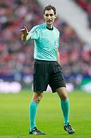 Spanish referee Ricardo De Burgos Bengoetxea during La Liga match. January 20,2018. (ALTERPHOTOS/Acero)