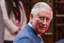 London, UK. 13th March, 2019. HRH the Prince of Wales, President of the Prince's Trust, arrives at the London Palladium to meet award winners and the charity's supporters at the annual Prince's Trust Awards. The Prince's Trust and TKMaxx & Homesense Awards recognise young people who have succeeded against the odds, improved their chances in life and had a positive impact on their local community.