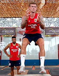 Aden Flint of Bristol City works out in the gym - Mandatory by-line: Matt McNulty/JMP - 20/07/2017 - FOOTBALL - Tenerife Top Training Centre - Costa Adeje, Tenerife - Pre-Season Training