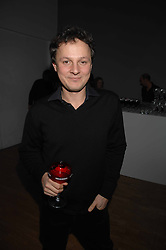 Artist JONATHAN YEO at the Art Plus Drama party Held at the Whitechapel Art Gallery, London E1 on 8th March 2007. <br /><br />NON EXCLUSIVE - WORLD RIGHTS