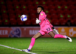 File photo dated 13-10-2020 of Leyton Orient goalkeeper Lawrence Vigouroux. Leyton Orient goalkeeper Lawrence Vigouroux believes Edouard Mendy is changing the perception of black goalkeepers with his impressive displays for Chelsea. Issue date: Wednesday October 13, 2021.