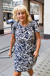 © Licensed to London News Pictures. 04/09/2018. London, UK. General Secretary of the Labour Party JENNIE FORMBY arrives at Labour Party headquarters in London to attend a National Executive Committee meeting. The Labour Party's ruling body is expected to vote on whether to adopt, in full, the IHRA (International Holocaust Remembrance Alliance) definition of anti-Semitism. Photo credit: Ben Cawthra/LNP