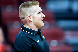 BLOOMINGTON, IL - October 23: Jake Barreau during a college Women's volleyball match between the ISU Redbirds and the Drake Buldogs on October 23 2021 at Illinois State University in Normal, IL. (Photo by Alan Look)
