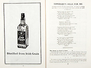 All Ireland Senior Hurling Championship Final,.07.09.1958, 09.07.1958, 7th September 1958,.Minor Galway v Limerick, .Senior Galway v Tipperary, Tipperary 4-09. Galway 2-05,..Advertisement, Cork Dry Gin,..Tipperary's Hills For Me, When Hurling was Banned in Galway,