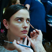 London, England, UK. 17th September 2017.FASHION SCOUT SS18 Day 3 backstage snaps at Freemasons Hall.