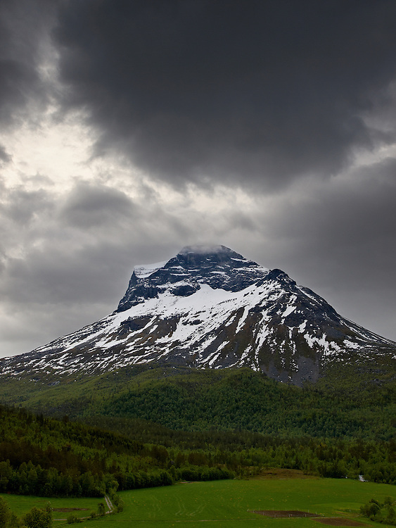 Norway -Mountain in Innerdalen