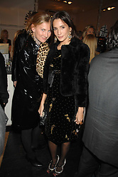 Left to right, ELIZABETH VON GUTTMAN and ASTRID MUNOZ at a party hosted by Allegra Hicks to launch Lapo Elkann's fashion range in London held at Allegra Hicks, 28 Cadogan Place, London on 14th November 2007.<br /><br />NON EXCLUSIVE - WORLD RIGHTS