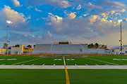 Football Stadium Bleachers at Garden Grove High School