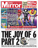 February 13, 2021 (UK): Front-page: Today's Newspapers In United Kingdom