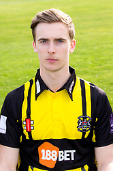 Craig Miles of Gloucestershire Cricket poses for a headshot in the Royal London One Day Cup kit - Mandatory by-line: Robbie Stephenson/JMP - 04/04/2016 - CRICKET - Bristol County Ground - Bristol, United Kingdom - Gloucestershire  - Gloucestershire Media Day