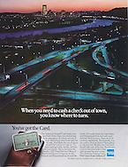 American Express, get cash, highway, Pittsburg