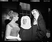 Sound of Music Cast at The Gaiety.16/04/1970 in Nuns Habit