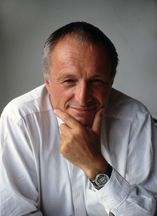 Sir Richard Rogers, British Architect who designed Lloyds of London and the Pompedou Centre in Paris. Photo by Terry Fincher. 1994