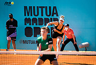 Gabriela Dabrowski of Canada and Demi Schuurs of the Netherlands playing doubles at the Mutua Madrid Open 2021, Masters 1000 tennis tournament on May 4, 2021 at La Caja Magica in Madrid, Spain - Photo Rob Prange / Spain ProSportsImages / DPPI / ProSportsImages / DPPI