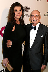 February 24, 2019 - West Hollywood, CA, USA - LOS ANGELES - FEB 24:  Linell Shapiro, Robert Shapiro at the Elton John Oscar Viewing Party on the West Hollywood Park on February 24, 2019 in West Hollywood, CA (Credit Image: © Kay Blake/ZUMA Wire)