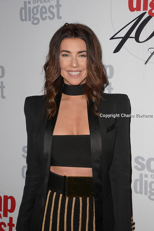 JAQUELINE MACINNES WOOD at Soap Opera Digest's 40th Anniversary party at The Argyle Hollywood in Los Angeles, California