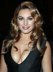 Kelly Brook   at the  Giles  show at London Fashion Week, A/W 2012 Monday 20th February 2012 Photo by: Stephen Lock / i-Images