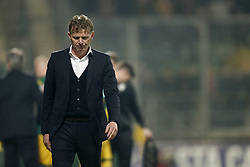coach Fons Groenendijk of ADO Den Haag during the Dutch Eredivisie match between ADO Den Haag and NAC Breda at Cars Jeans stadium on March 10, 2018 in The Hague, The Netherlands