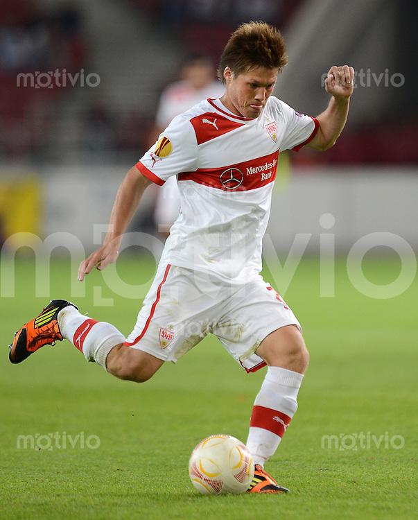 FUSSBALL   EUROPA LEAGUE   SAISON 2012/2013   20.09.2012 VfB Stuttgart - FC Steaua Bukarest Gotoku Sakai (VfB Stuttgart)