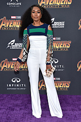 Angela Bassett attends the World Premiere of Avengers: Infinity War on April 23, 2018 in Los Angeles, Ca, USA. Photo by Lionel Hahn/ABACAPRESS.COM