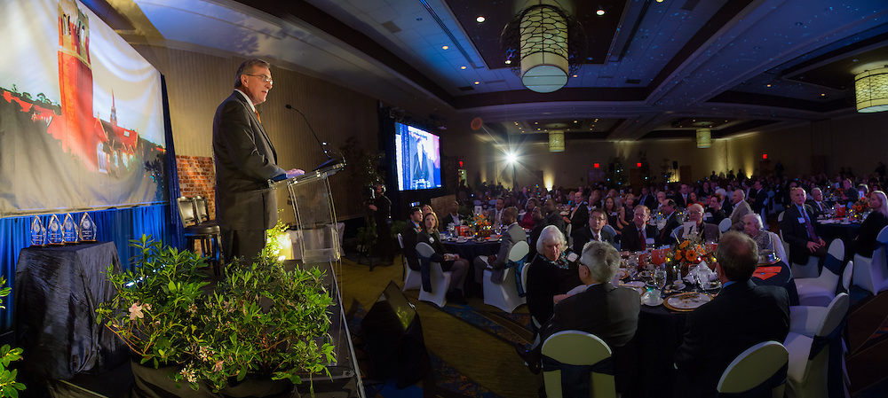 The University of Florida Foundation honored some of the top donors to the University at the annual Academy of Golden Gators event at the UF Hilton in Gainesville, Florida, Friday March 6, 2015.