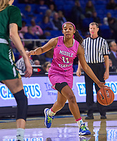 Middle Tennessee Blue Raiders guard Aislynn Hayes (11) during the UAB Blazers at Middle Tennessee Blue Raiders college basketball game in Murfreesboro, Tennessee, Thursday, February, 20, 2020.<br /> Photo: Harrison McClary/All Tenn Sports