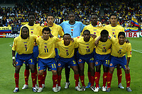 Fotball <br /> FIFA World Youth Championships 2005<br /> Tilburg<br /> Nederland / Holland<br /> 12.06.2005<br /> Foto: ProShots/Digitalsport<br /> <br /> Colombia v Italia<br /> <br /> Colombia