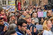Arriving in Parliament Square - It is estimated that over a million people joined the Put it to the People March from Park Lane to Parliament. Organised by the Peoples-Vote.UK to demand that, whatever deal is finally agreed, that it is put to the people to finally decide upon.