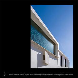 "Museo ""Nuñez de Balboa"" en Jerez de los Caballeros (Badajoz).<br /> Arquitectos Modesto García e Isabel Amores."