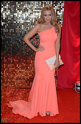 Catherine Tisdale attends the British Soap Awards 2014 at the Hackney Empire, London, United Kingdom. Saturday, 24th May 2014. Picture by Andrew Parsons / i-Images