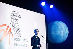 Jernej Pikalo at 54th Annual Awards of Stanko Bloudek for sports achievements in Slovenia in year 2018 on February 13, 2019 in Brdo Congress Center,  Kranj , Slovenia. Photo by Peter Podobnik / Sportida