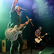 """WASHINGTON, DC - May 5th, 2014 -  The Foo Fighters perform at the 9:30 Club in Washington D.C. as part of the birthday celebration for Big Tony of Trouble Funk. The band performed as surprise guests and played a set full of hits such as """"My Hero"""" and """"These Days."""" (Photo by Kyle Gustafson / For The Washington Post)"""