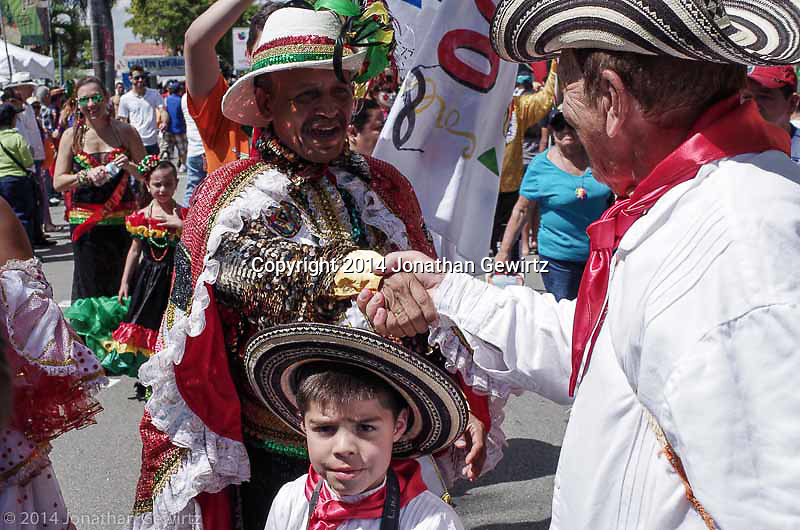 """The annual """"Carnaval"""" or street carnival on Miami's Calle Ocho (SW 8th St)."""
