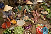 Women in Central Market, Hoi An, Cental Vietnam
